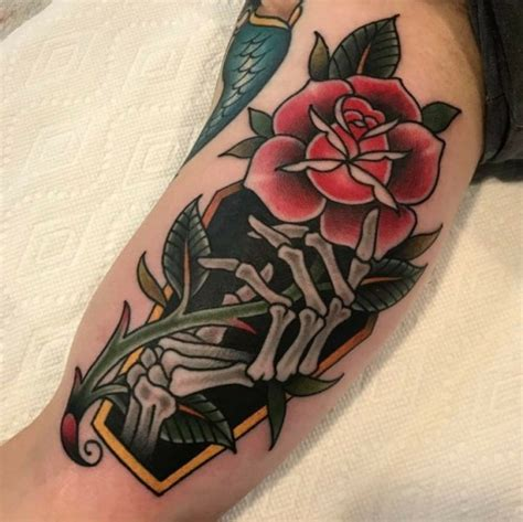 traditional coffin tattoo traditional coffin
