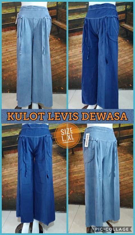 Baju Gamis Levis Dewasa produsen celana kulot levis dewasa murah 40ribuan peluang usaha grosir baju anak daster