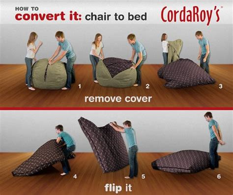 cordaroy s bean bag bed corda roy s beanbag chair and bed shark tank products