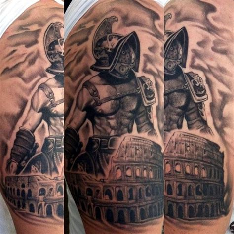 40 valiant gladiator tattoo designs