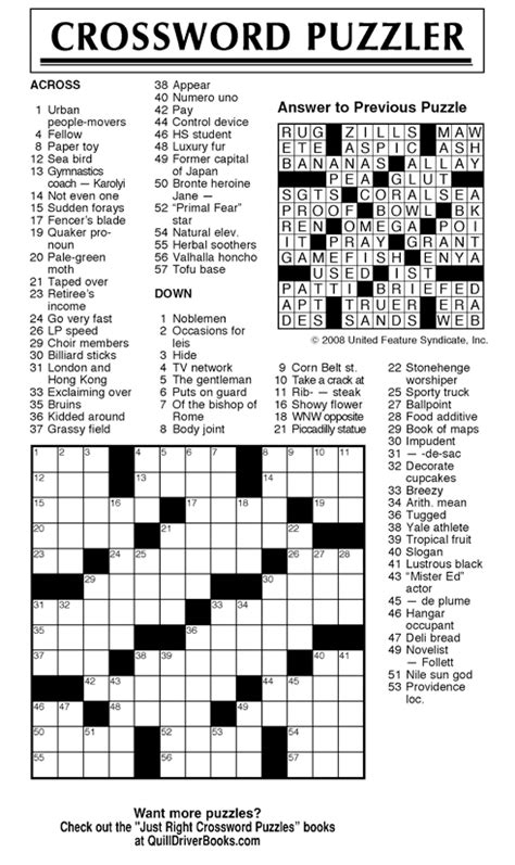usa today crossword printable version andrews mcmeel syndication home