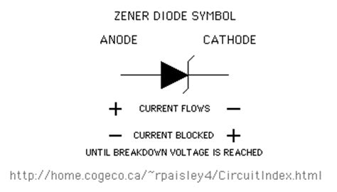 diode direction markings special diode types basic circuit circuit diagram seekic
