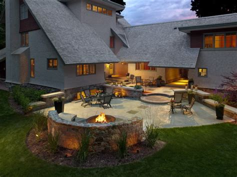 patio and firepit ideas backyard patio ideas with pit photos landscaping