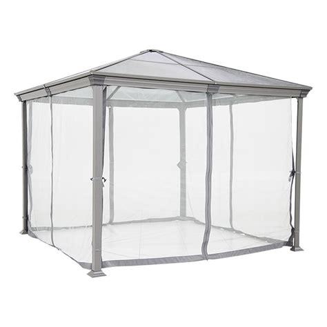 sunfun pavillon sunfun pavillon reo 3 x 3 cm anthrazit