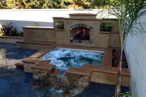 backyard spa pictures and ideas