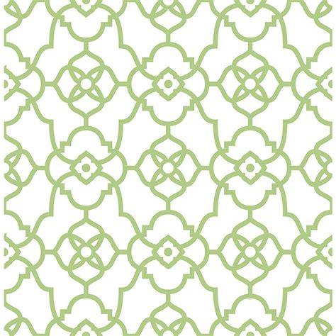 a atrium green trellis wallpaper 2702 22717 the home depot