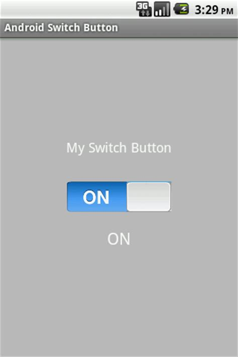 android toggle button android development android switch button