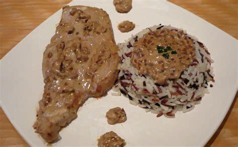 recette de cuisine beninoise escalope de porc et riz sauvage recette wecook fr