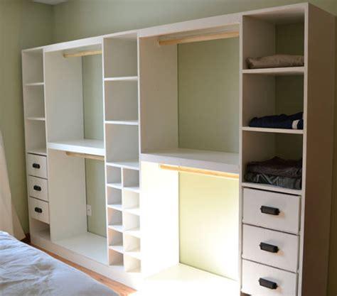 Bedroom Closet Construction Comment Construire Un Dressing Pour Pas Cher Plan De