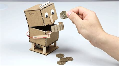 Bastelideen Mit Pappe by How To Make Robot Facebank Box