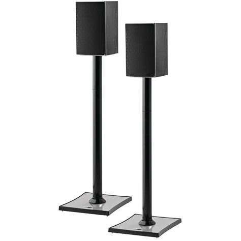 omnimount gemini audiophile bookshelf speaker stands 2