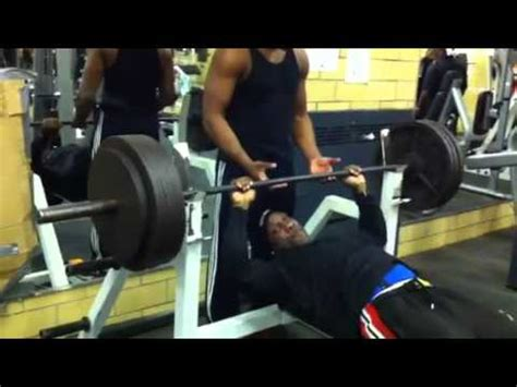 tyson bench press iron mike 385 bench press youtube