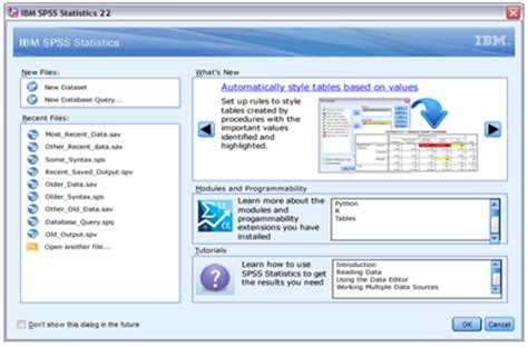 Tutorial Spss Version 22 | ibm released new version of spss statistics lodestar