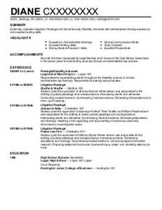 Court Reporter Resume Sles by Court Reporting Resume Exles Resumes Livecareer