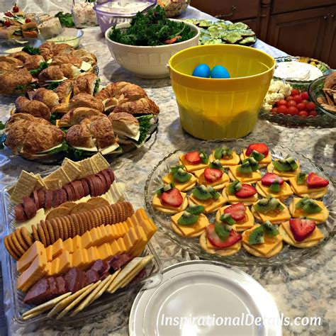 food ideas for couples wedding shower is in the air bridal shower inspirational details