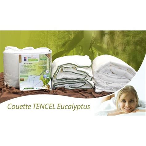 Couette Lyocell Ou Polyester by Couette Tencel Eucalyptus 450gr 240x220 Achat Vente
