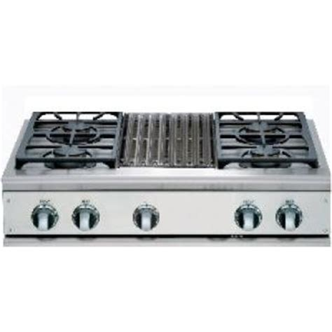 Gas Cooktop With Grill 36 dcs cooktops 36 inch propane gas cooktop with grill by