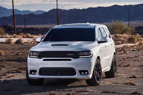 black durango srt 2018 dodge durango srt look automobile magazine