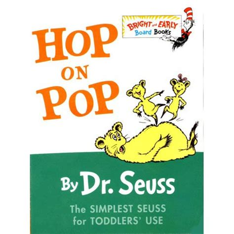 pictures of dr seuss book covers hop on pop walmart