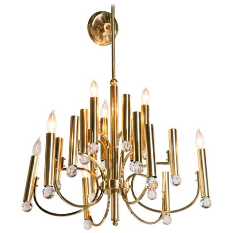 Prisms For Chandeliers Parzinger Style Chandelier With Swarovski Prisms At 1stdibs