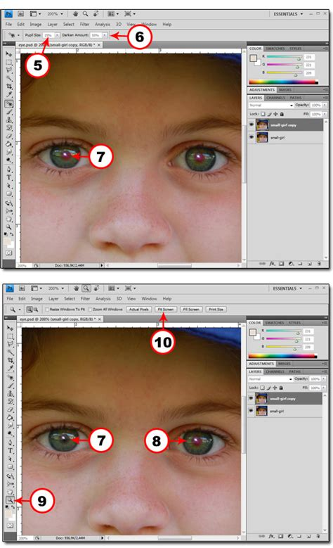 photoshop cs5 red eye tool tutorial remove red eye in photoshop cs4 photoshop basics