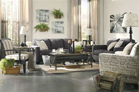 Adorable off white wall painted also cool charcoal sofa and table decors as inspiring informal