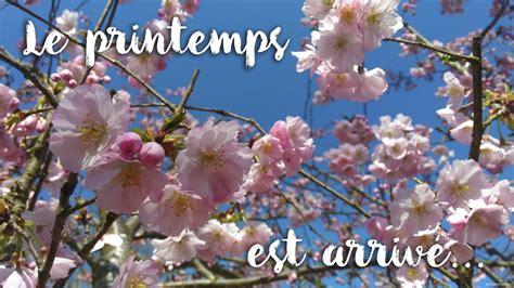 Le Printemps by Le Printemps Est Arriv 233 Lyc 233 E Horticole Et Animalier De