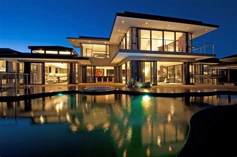 big modern house luxury contemporary and modern south africa house at