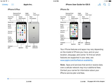 iphone user guide apple s official iphone and user guide for ios 8 now available on ibooks 9to5mac