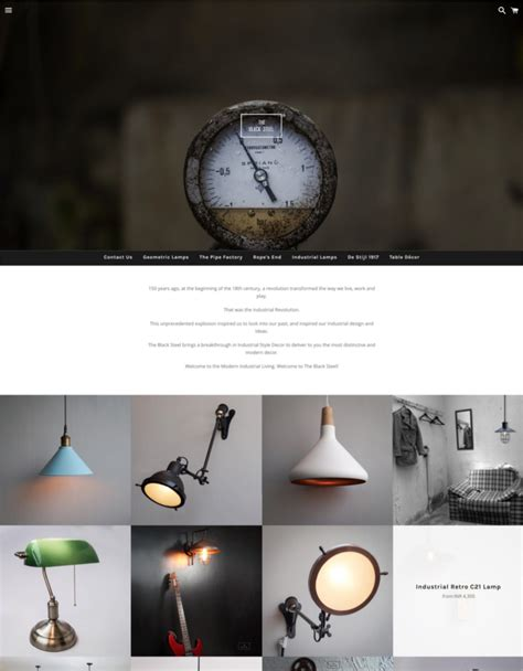 shopify themes boundless black white theme boundless ecommerce website template