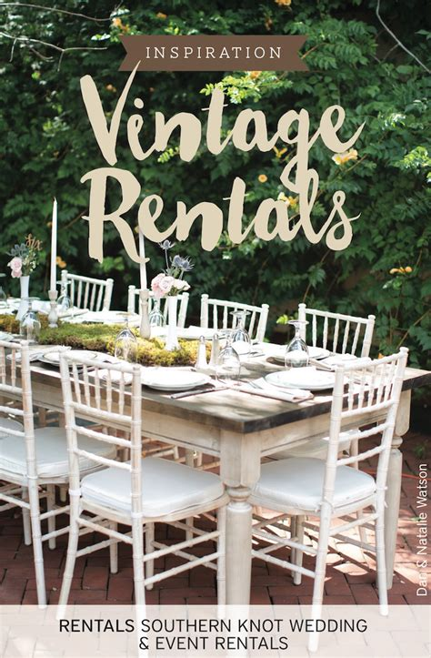 Vintage Rentals Wedding Inspiration   The Pink Bride