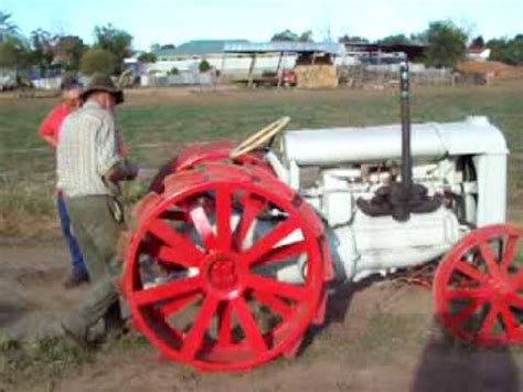 1929 fordson snow machine concept video wimpcom fordson f tractor youtube
