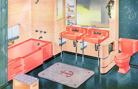 1950s bathroom decor matthew s island of misfit toys