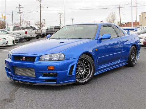 1999 nissan skyline gt r r34 start up test drive and