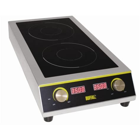 induction hob next to sink buffalo gf239 7kw heavy duty induction hob next day delivery