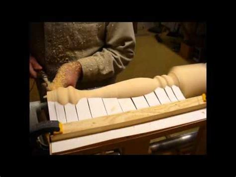 woodturning lathe projects flapper template youtube