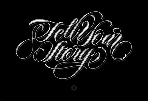 Cb Typografy lettering tell your story t y p e