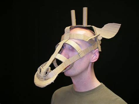 cardboard mask template google search year 7va t1