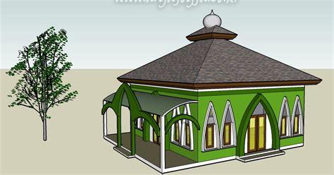 desain serambi mushola art interior house