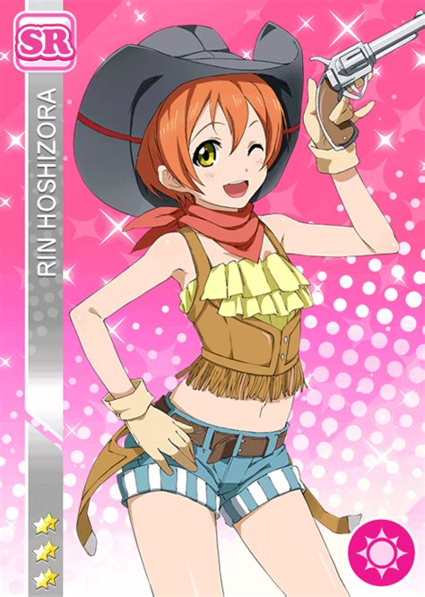 school idol tomodachi cards album 59 hoshizora rin sr