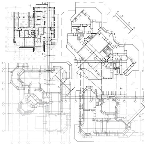 architectural planning architectural background part of architectural project
