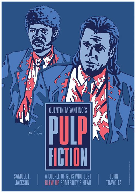 pattern pulp jobs pulp fiction movie poster on pantone canvas gallery