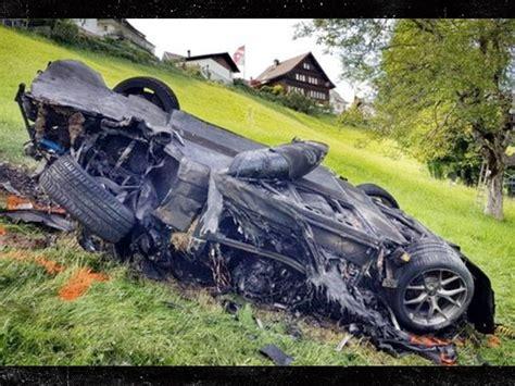 best car crash top gear ex host richard hammond injured in fiery car