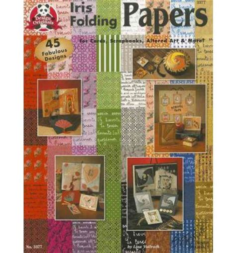 Iris Folding Papers - iris folding papers suzanne mcneill 9781574212549