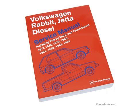 Vw Mk1 Diesel Bentley Repair Manual Free Tech Help