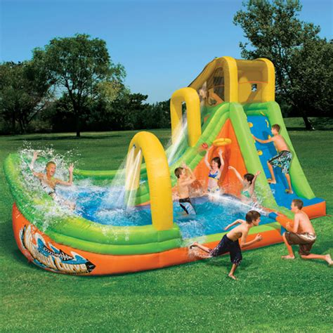 backyard kid pools inflatable water slides