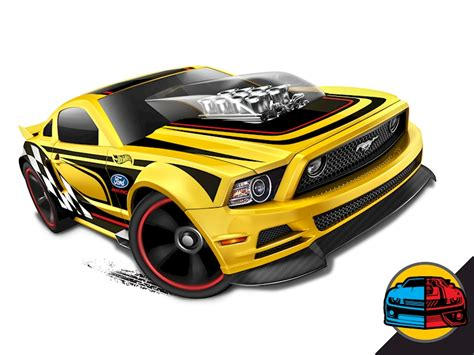 Hotwheels 2010 Ford Mustang Gt 2010 ford mustang gt shop wheels cars trucks race