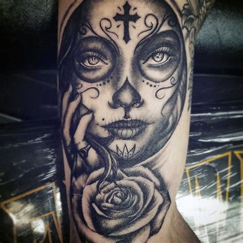 70 day of the dead tattoos for mexican designs