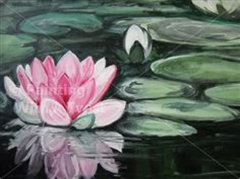 paint with a twist fort smith lotus flower paintings on lotus painting koi