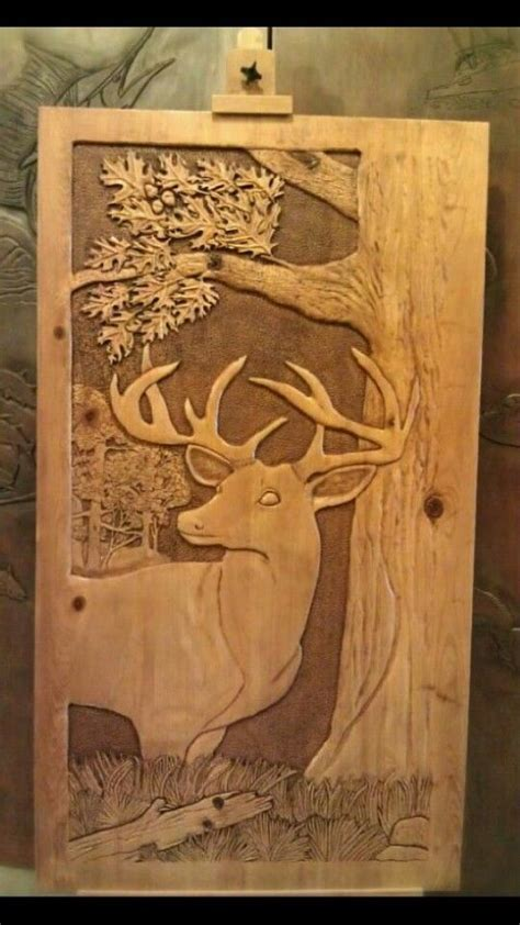 wood carving ideas with dremel more advanced deer dremel carving deer
